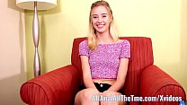 Hot Tall Teen Haley Reed Gets Fucked in Ass for... Thumbnail
