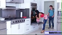 Hardcore Sex Scene With Busty Housewife (Isis L...