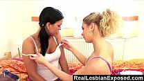 RealLesbianExposed - Eat my wet pussy, bitch!