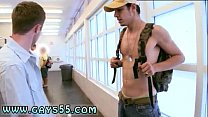 Cute teen in outdoor bus photo gay first time M... Thumbnail