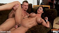 Chesty brunette Jewels Jade gets ass fucked Thumbnail