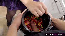 MomsTeachSex - Big Dick Trick Or Treat For Step...
