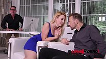 Samantha Rone ready to suck two cocks & lube 'e...