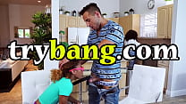 TRYBANG - Ulan Teaches Kendall Woods How To Suck And Fuck
