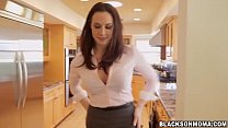 Pretty hot chick Chanel Preston having a huge cock Thumbnail
