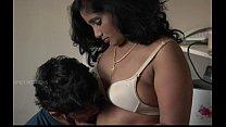 sexy hot mallu bhabi boobs pressed by boyfriend xdesitubes.com