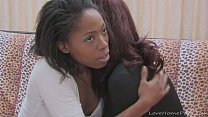 Ebony babe loves fucking her girlfriends pussy Thumbnail