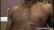 Gay Black Dude Gives Nasty Handjob ToHer White Friend 06