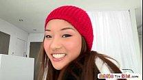 Monster cock screws teen pornstar Ana Li and sh...