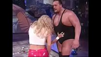 WWE - Rare Celebrity Nude WWF - WWE Divas Torrie Wilson yanks down Stacy Keibler s skirt Thumbnail