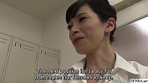 JAV schoolgirls anal sex practice begins HD subtitled
