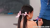 Audrey Noir and Rose Darling Give Head and Stuffed Thumbnail