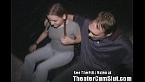 18yo Hard Knox Ho Fucked in XXX Theater!