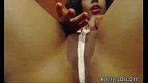 Ebony wet webcam