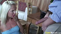 Rod thirsty Eden Adams loves riding random stra...