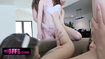 Teen Sorority Lesbians Have New Pledge Licking ...