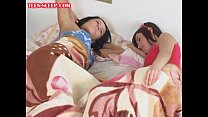 Sleeping-Teen-Lesbian