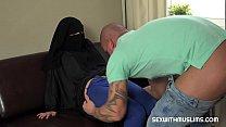 Big boobs niqab girl