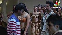 Anushka Hot Navel & Boob in Song making  in Singam II U HD 720p