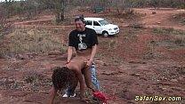 skinny african safari sex chick