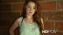 HD POV Lovely little teen loves you so much she...