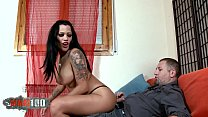 Fucking a south american hooker with big tits a...