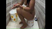 Mona Bathing In Hotel Bath Room