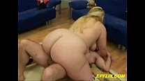 Huge Titted Blonde BBW Gets Lucky Thumbnail