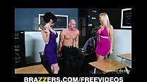 Pair of slutty girlfriends decide to share big-...