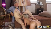 Hairy Old Teacher Fucks His Hot Young Prodigy