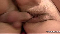 He pounding her shaggy old hole Thumbnail