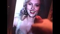 Scarlett Johansson Cum Tribute Thumbnail
