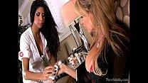 Sexy Brazilian Nurse Fucking A Hot Couple