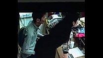 Camera flagra foda no trabalho