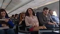 Mariya Shumakova Flashing tits in Plane- Free H... Thumbnail