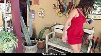 TeenPies - Girl Gets Creampied By Her Boyfriends Dad