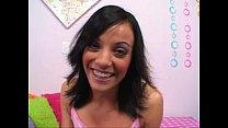 cute teen Jaylyn Sinns likes big cock