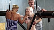 Blonde slave in BDSM action Thumbnail