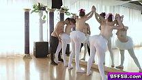 The Ballerinas blowjob their instructor Thumbnail