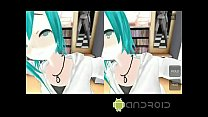 MMD ANDROID GAME miki kiss VR Thumbnail