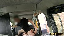 Damn girl gets rammed hard by the driver in the...
