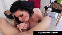 Cuban Princess Angelina Castro Gets Load of Cum...