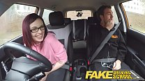 Fake Driving School American Teen Creampied by ... Thumbnail