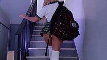 PORNO ACADEMIE - Brunette school girl Valentina Ricci anal fucked by doctor
