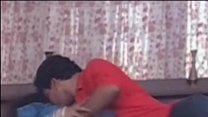 mallu beauty roshani romance with boob show