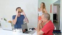 Girlfriend cheats on her boyfriend after seduci...