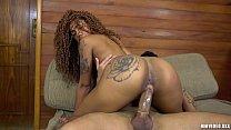 Ebony beauty Aniaty Barbosa fucked hard by Jack...