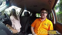 Fake Driving School Hot and lonely blonde Russi... Thumbnail