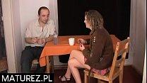 Polskie mamuśki - Milf Agnieszka wytrzepana na dwa baty