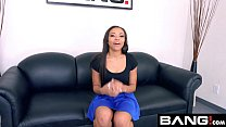 BANG Casting: Adrian Maya Gets A Raw Rough Throat Fucking